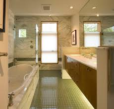 bathroom with glass floor contemporary bathroom seattle by