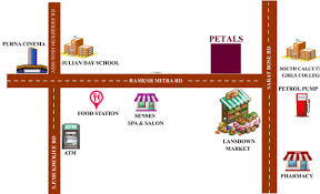 arrjavv petals in kalighat kolkata price location map floor
