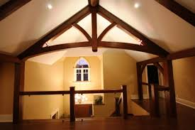 timber frame great room lighting interior prefabricated custom home hybrid building system