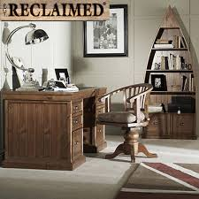 villiers reclaimed wood boat bookcase office chairs home office