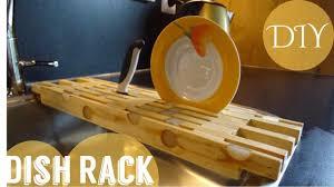 Plywood Storage Rack Free Plans by Simple Diy Dish Rack Free Plan Youtube