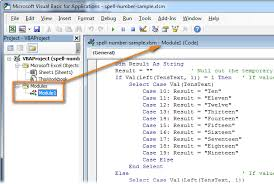 how to convert number to words in excel