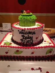 lady bug baby shower this is a publix birthday celebration cake