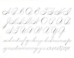 elegant script spencerian and copperplate roundhand jake rainis