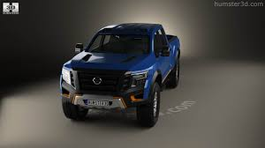 nissan titan 2015 360 view of nissan titan warrior 2016 3d model hum3d store