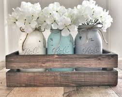 jar center pieces jar centerpieces etsy