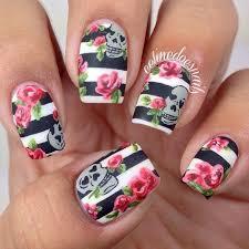 25 best skull nails ideas on pinterest is hair dead skull nail