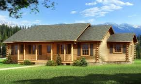 20 stunning one level log home plans architecture plans 27181