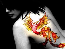 women phoenix tattoo the arts