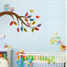 Nursery Owl Wall Decals And Owl Wall Decal