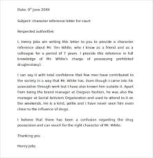 character letter for court jvwithmenow com