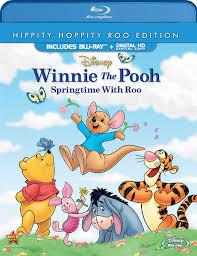 Winnie The Pooh Invitation Cards Amazon Com Winnie The Pooh Springtime With Roo Blu Ray David