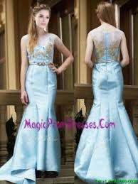 light blue prom dresses 2018 cheap prom gowns