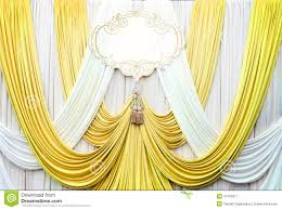 wedding backdrop gold white and gold curtain backdrop background stock image image of