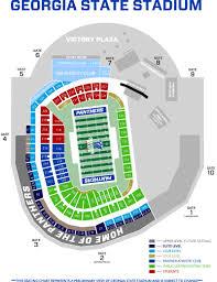 Bank Of America Stadium Map by Georgia State Stadium Seating Panthers Football Game Times