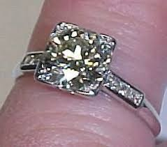 1920s engagement rings platinum and diamond 1920s engagement ring item 1044338