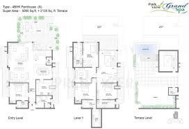 7230 sq ft 4 bhk floor plan image bestech park view grand spa
