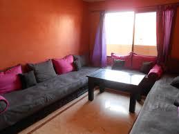 deco salon marocain décoration salon marocain avec balcon