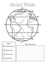 6 best images of ocean currents map worksheet surface ocean