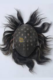 best natural looking human toupee for men on sale hairbro
