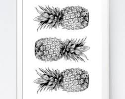 turquoise gold pineapple print turquoise and gold