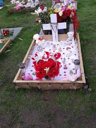 spends hundreds decorating stillborn s grave for