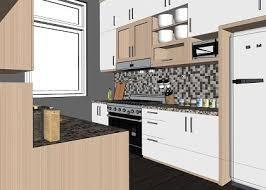 free 3d models kitchen wood kitchen by eko aryo widodo
