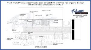 floor plan lay out custom food truck floor plan sles prestige custom food truck