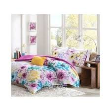 Girls Bedding Purple by Amazon Com Comforter Bed Set Girls Teen Bedding Floral Flowers