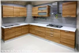 kitchen design wood latest kitchen designs design shape india for small space