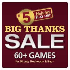 ea offers 90 on iphone and as thanksgiving