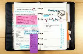 wedding planner agenda wedding planner agenda