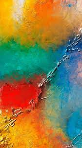 colorful wall paint texture android wallpaper free download