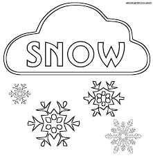 snow coloring pages coloring pages download print