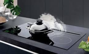 aspirateur pour hotte de cuisine hotte de plan de travail airone titan 912 verre noir haute performance