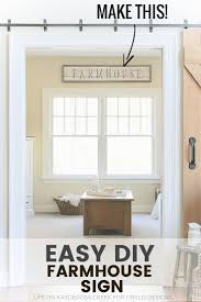 how to make a rustic diy farmhouse sign with stencils u2022 grillo designs