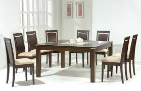unique modern dining room set with unusual dining table also