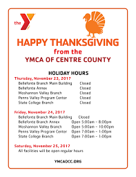 hours bellefonte branch u2013 ymca of centre county