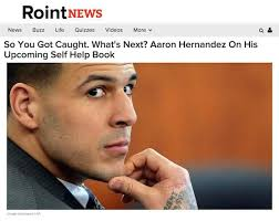 sister site news from our sister site aaron hernandez s self help book