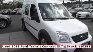 2011 Ford Transit Van 2011 Used Ford Transit Connect Van Xlt For Sale In San Diego At