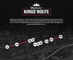 budweiser the kings u0027 route is foolish