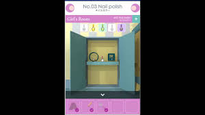 girls room escape no 03 nail polish walkthrough youtube