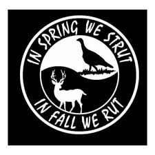hunting truck decals in the spring hunting stickers outdoors truck stickers