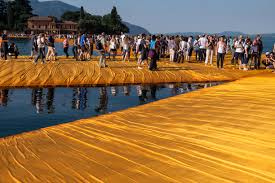 Floating Piers by Photos From Christo U0027s Floating Piers Lake Iseo Italy Cooking