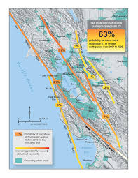 san francisco fault map earthquake between the san andreas and maacama patton