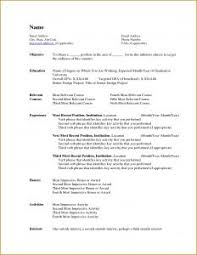 Make Resume For Free Online by Resume Template Free Download Professional In Word Format For A