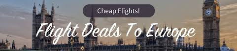savings up to 50 cheap last minute flight deals to europe with