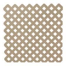 veranda 0 2 in x 48 in x 8 ft white vinyl privacy diamond