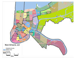 Crime Map Of New York by New Orleans Maps Louisiana Us Maps Of New Orleans New Orleans