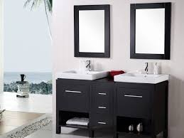 vanity cabinet design hanging rectangular mirror floating rich